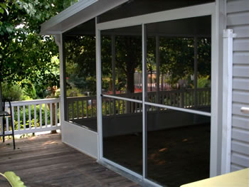 Screen rooms & pool enclosures