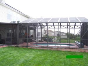 Screen pool enclosure in Bear, Delaware